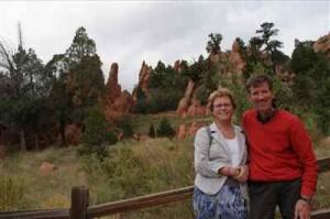 Wim en Janneke tijdens hun vakantie in 2011