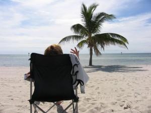 Heerlijk ontspannen op het strand