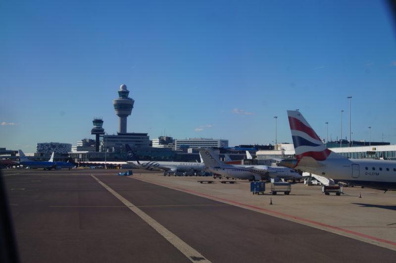 Vliegveld Amsterdan-Schiphol