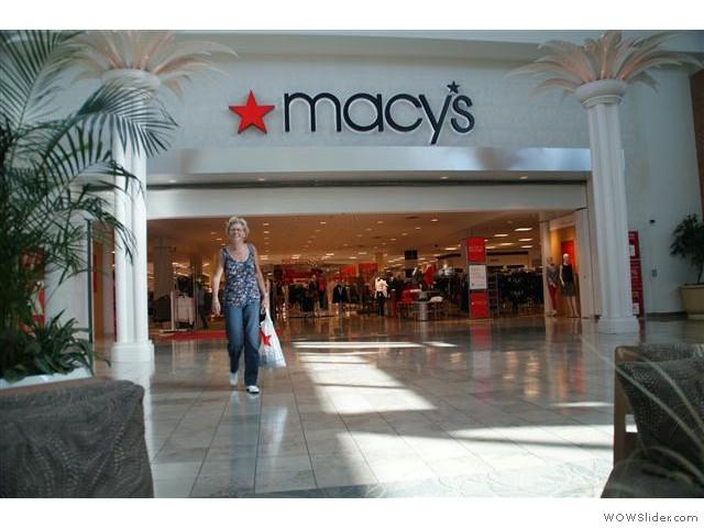 in de Mall……..en geslaagd……..
