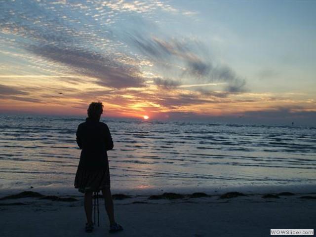 zonsondergang Siesta Key