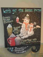 Starbucks is klaar voor de winter, terwijl het buiten 32 graden is......