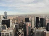 Central Park vanaf Rockefeller Centre