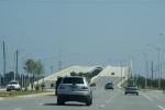 mooie brug naar Jacksonville Beach