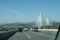 onderweg van Vancouver naar Whistler