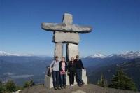 Whistler; boven op de berg