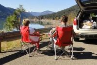 picknick, onbetaalbaar uitzicht