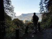 wandelen bij de Multnomah Falls